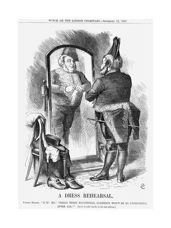 A Dress Rehearsal, 1868