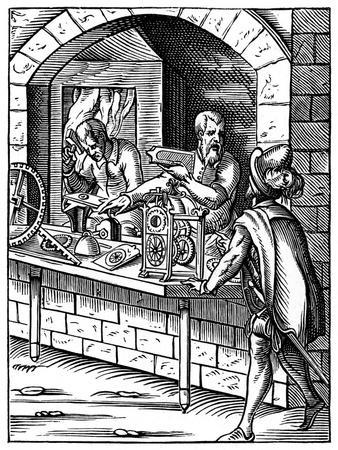 The Clockmaker, 16th Century