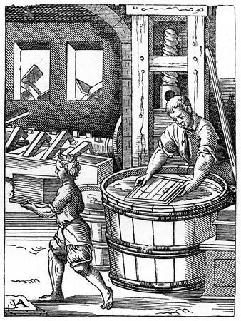 The Paper Maker, 16th Century