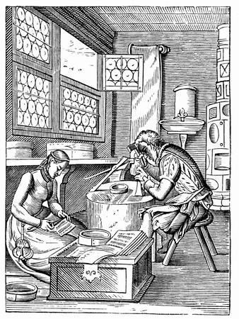 The Clasp Maker's Workshop, 16th Century