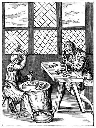 Dice Maker's Workshop, 16th Century