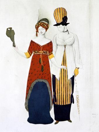 Costume Moderne, 1910