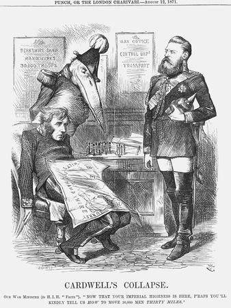 Cardwell's Collapse, 1871