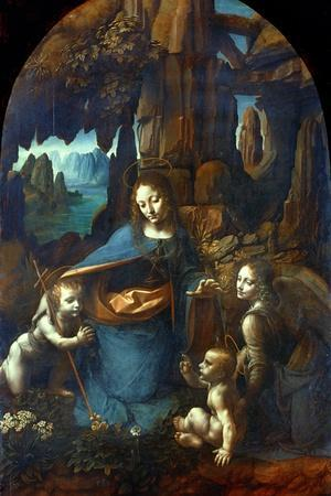 The Virgin of the Rocks, 1491-1519