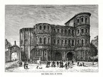 The Porta Nigra, Trier, Germany, 1879