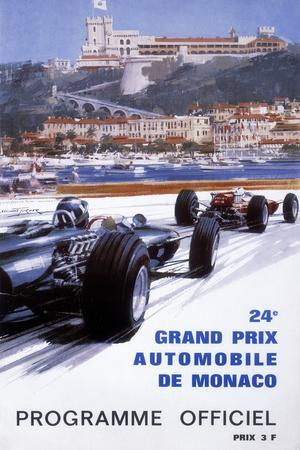 The Official Programme for the 24th Monaco Grand Prix, 1966