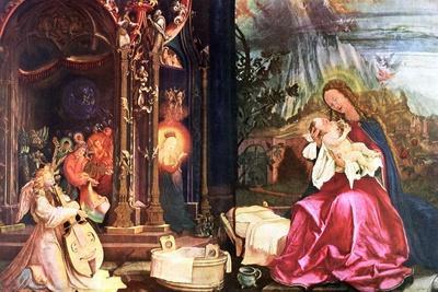 The Nativity of the Antonins of Isenheim, C1490-1528