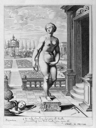 Pygmalion Is Enamoured with a Statue He Has Made, 1655