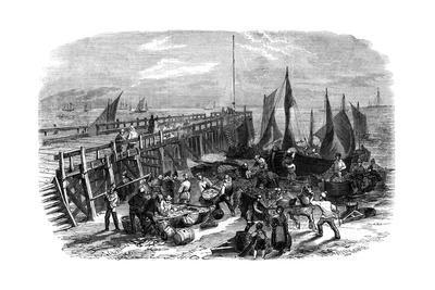 Return of the Herring Boats, Yarmouth, Isle of Wight, 1856