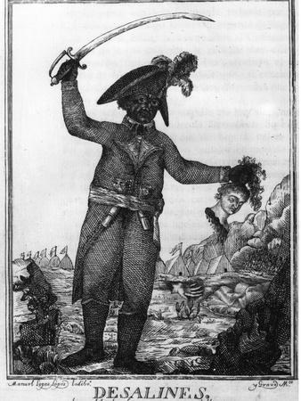 Jean Jacques Dessalines, a Leader of the Haitian Revolution, 1806