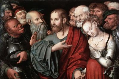 Christ and the Woman Taken in Adultery, after 1532