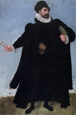 Study of a Costume, 16th Century