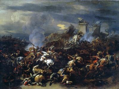 Battle Between Alexander and Porus, 326 BC