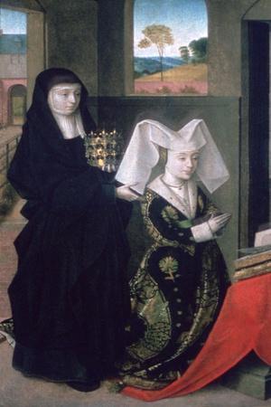 Isabel of Portugal with St Elizabeth, 1457-1460