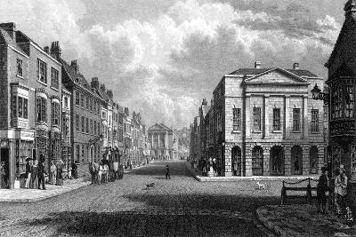 The High Street, Newport, Isle of Wight, 1844