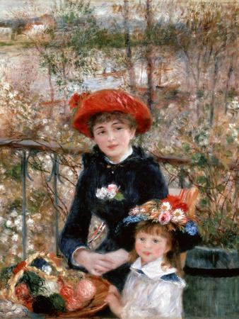 Two Sisters (On the Terrac), 1881