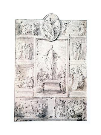Composition Sketch, C1513-1540