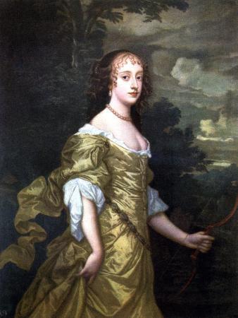 Portrait of Frances, Duchess of Richmond, C1662-1665