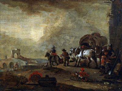 Travellers on the Way, 17th Century