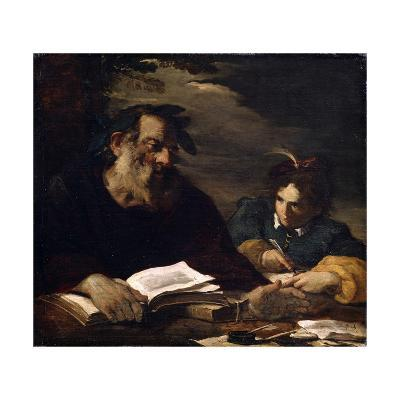 Homer Dictating His Poems, 17th Century