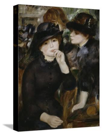 Two Girls in Black, 1880-1882