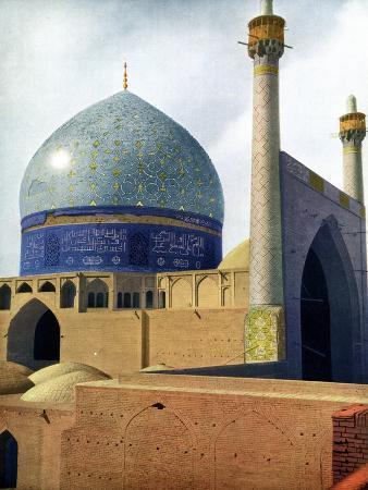 The Royal Mosque at Isfahan, 1931