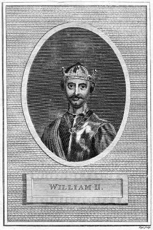 King William II of England