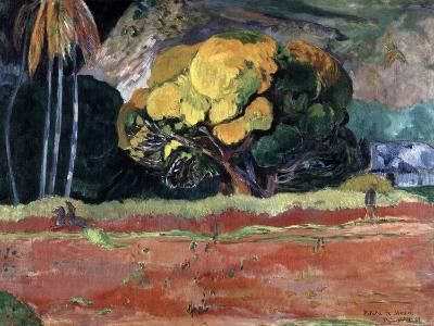 Fatata Te Moua (At the Foot of a Mountai), 1892