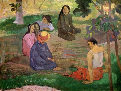 Les Parau Parau (Conversation), 1891