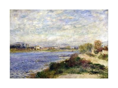 The Seine at Argenteuil, C1883