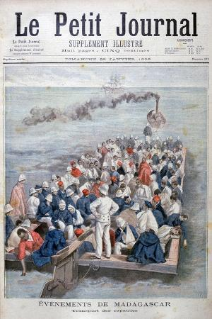 Events in Madagascar: the Repatriation of French Troops, 1896