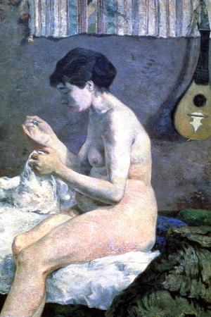 Study of a Nude, 1880