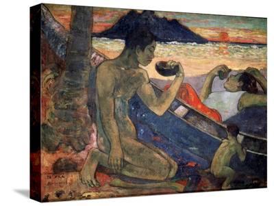 Te Vaa (The Cano), 1896