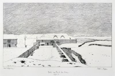 Porte Du Point Du Jour, Siege of Paris, 1870-1871