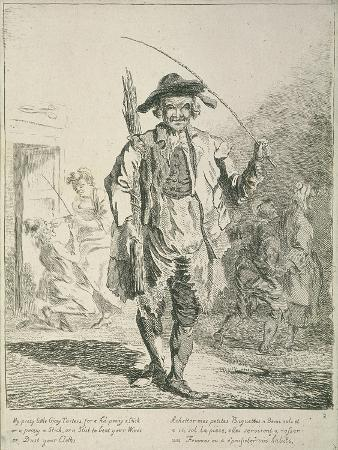 Stick Seller, Cries of London, 1760
