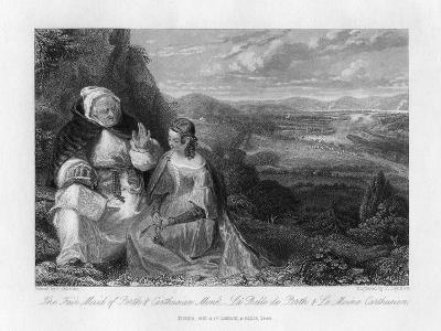 The Fair Maid of Perth and Carthusian Monk, 1845