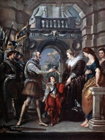 The Medici Cycle: Henri IV Leaving for the War in Germany, 20th March 1610