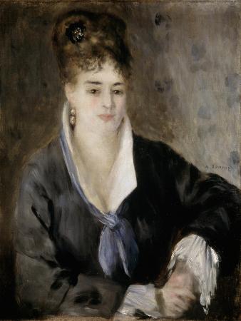 Lady in Black, 1876