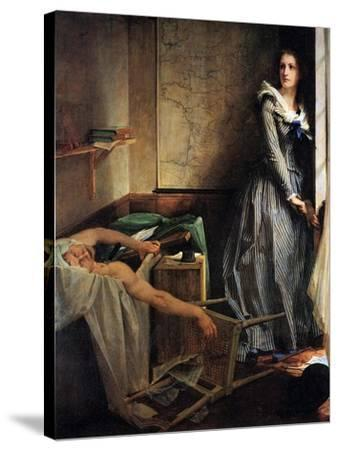 Charlotte Corday after the Murder of Marat, 1861