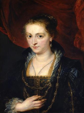 Portrait of Suzanne Fourment, 17th Century