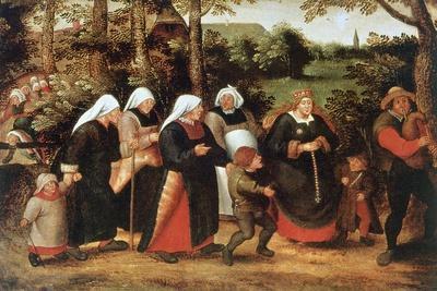 The Procession of the Bride, C1584-1638