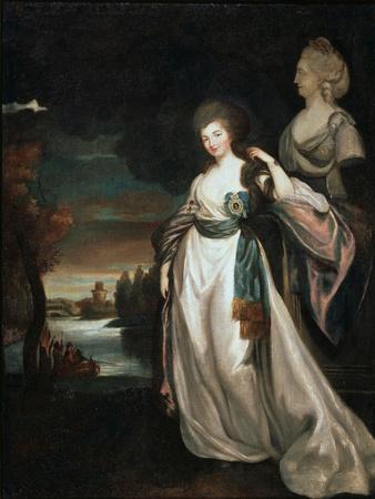Portrait of the Lady-In-Waiting Coutess Alexandra Branitskaya, 1778-1781