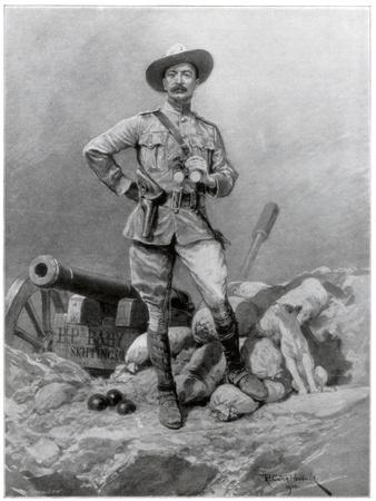 Major General Robert Baden Powell, 1900
