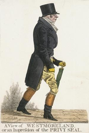 A View of Westmoreland, or an Impression of the Privy Seal, 1821