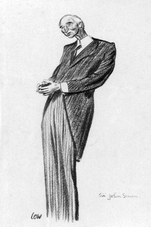 John Simon, 1st Viscount Simon, 1933