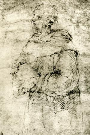Study of a Monk, 1913