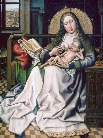 The Virgin and Child before a Firescreen, 1440