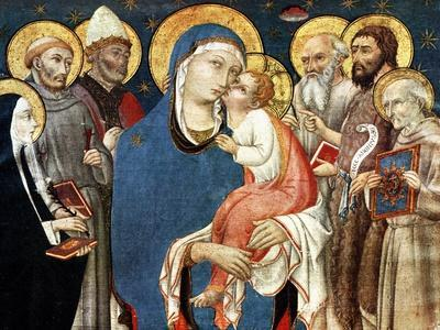 The Madonna and Child with Saints, Mid 15th Century