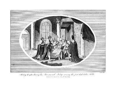 King Henry II (1133-118), 1793