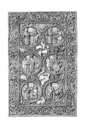 Ivory Cover of a Book of Hours, 11th Century (1882-188)